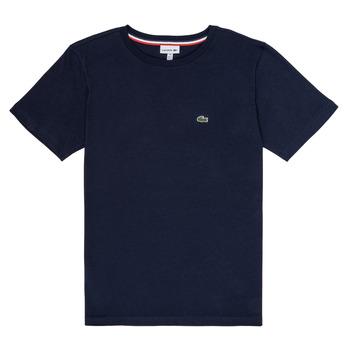 textil Niño camisetas manga corta Lacoste JOSEPHE Marino