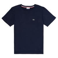 textil Niño Camisetas manga corta Lacoste KETLEEN Marino