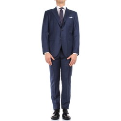 textil Hombre Trajes Kiton 0302S15/25 azul