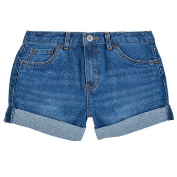 textil Niña Shorts / Bermudas Levi's GIRLFRIEND SHORTY SHORT Azul