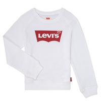 textil Niña Sudaderas Levi's KEY ITEM LOGO CREW Blanco
