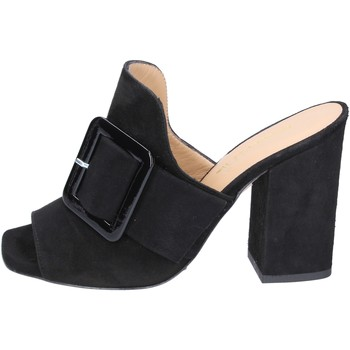Zapatos Mujer Zuecos (Mules) Broccoli BP304 negro