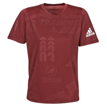 textil Hombre Camisetas manga corta adidas Performance DAILY PRESS TEE Rojo