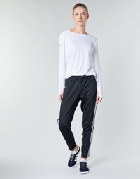 textil Mujer Pantalones de chándal adidas Performance W ID 3S Snap PT Negro