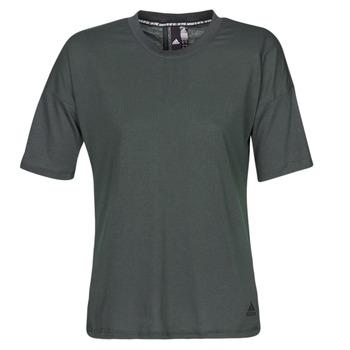 textil Mujer camisetas manga corta adidas Performance W MH 3S Tee Negro