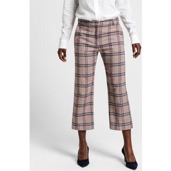 textil Mujer Pantalones Gant Pantalones Slim Slouch Multicolor