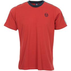 textil Hombre camisetas manga corta Sergio Tacchini Dahoma T-Shirt Rojo