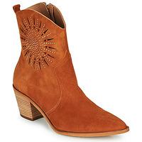 Zapatos Mujer Botines Fericelli MEYLIA Cognac