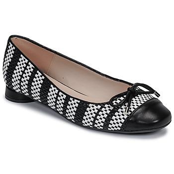 Zapatos Mujer Bailarinas-manoletinas Fericelli MARYA Negro / Blanco