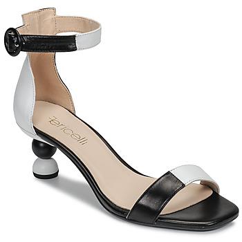 Zapatos Mujer Sandalias Fericelli MARC Negro / Blanco