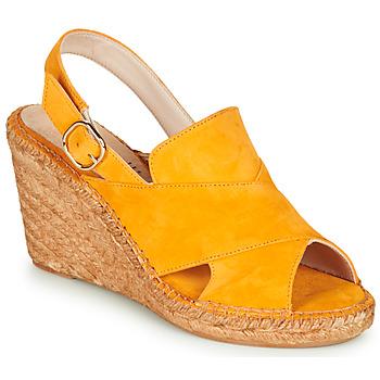 Zapatos Mujer Sandalias Fericelli MARIE Amarillo