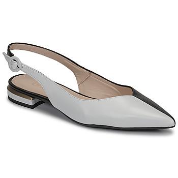 Zapatos Mujer Bailarinas-manoletinas Fericelli MANU Negro / Blanco