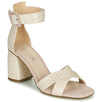 Zapatos Mujer Sandalias Fericelli JEZI Blanco / Rosa