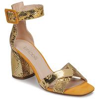 Zapatos Mujer Sandalias Fericelli JEZI Amarillo