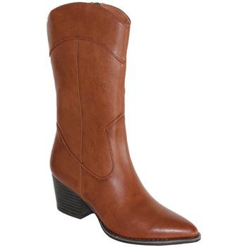 Zapatos Mujer Botas urbanas Prisska HF980 Camel