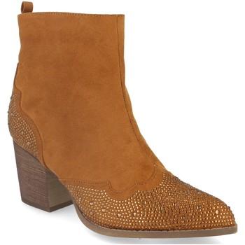 Zapatos Mujer Botines Buonarotti 2A-9661 Camel