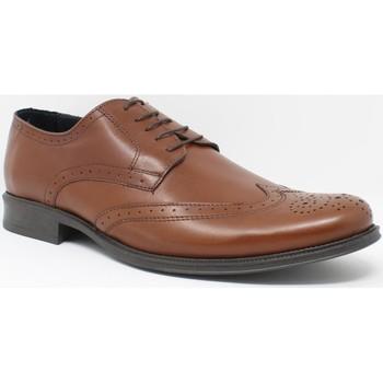 Zapatos Hombre Richelieu Bienve Zapato caballero  1605 cuero Marrón