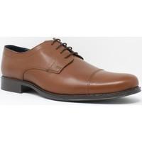 Zapatos Hombre Derbie Bienve Zapato caballero  1355 cuero Marrón