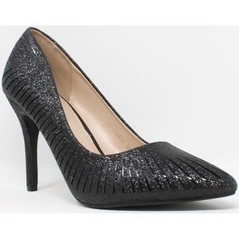 Zapatos Mujer Zapatos de tacón Bienve Ceremonia señora  18476 negro Negro