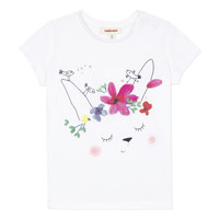 textil Niña camisetas manga corta Catimini MAE Blanco