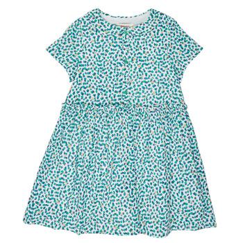 textil Niña vestidos cortos Catimini ELLA Blanco
