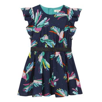 textil Niña vestidos cortos Catimini CESAR Azul