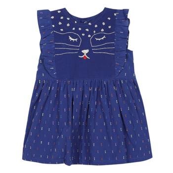 textil Niña vestidos cortos Catimini CHARLES Azul