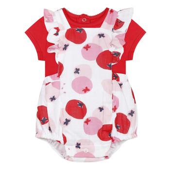 textil Niña Conjunto Catimini LUCIEN Rojo