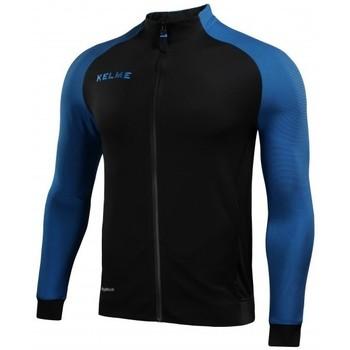 textil chaquetas de deporte Kelme CHAQUETA MONTES NEGRO Y AZUL