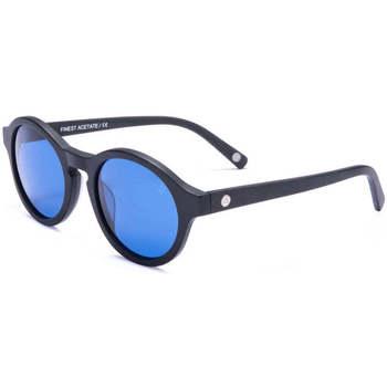 Relojes & Joyas Gafas de sol The Indian Face Valley Black / Blue Negro