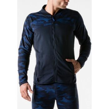 textil Hombre Chaquetas de deporte Code 22 Chaqueta de deporte Camo urbana código azul marino 22 Azul Marine