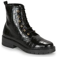 Zapatos Mujer Botas de caña baja André NAGAMMA Negro