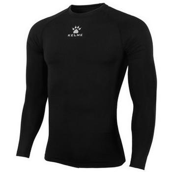 textil Hombre Camisetas manga larga Kelme CAMISETA TÉRMICA M/L Negro