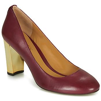 Zapatos Mujer Zapatos de tacón Lauren Ralph Lauren 802688958-004 Burdeo