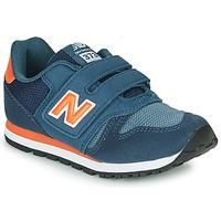 Zapatos Niños Zapatillas bajas New Balance YV373KN-M Azul / Rojo