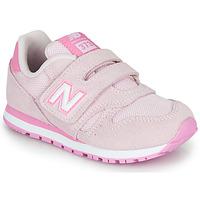Zapatos Niños Zapatillas bajas New Balance YV373SP-M Rosa