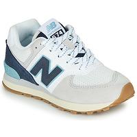 Zapatos Zapatillas bajas New Balance GC574SOU Blanco / Azul