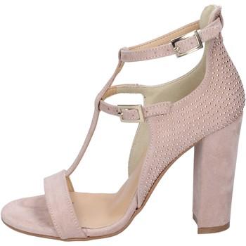 Zapatos Mujer Sandalias Olga Rubini sandalias gamuza sintética tachuelas rosa