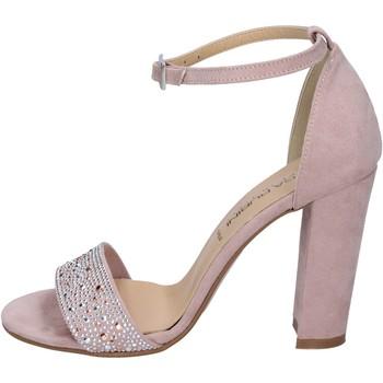 Zapatos Mujer Sandalias Olga Rubini sandalias gamuza sintética strass rosa