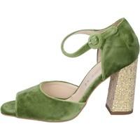 Zapatos Mujer Sandalias Olga Rubini sandalias terciopelo verde