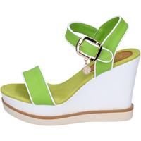 Zapatos Mujer Sandalias Enrico Coveri sandalias cuero sintético verde