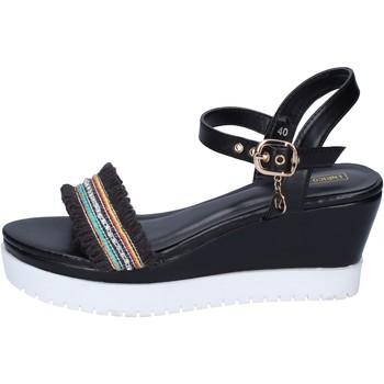 Zapatos Mujer Sandalias Enrico Coveri BP389 negro