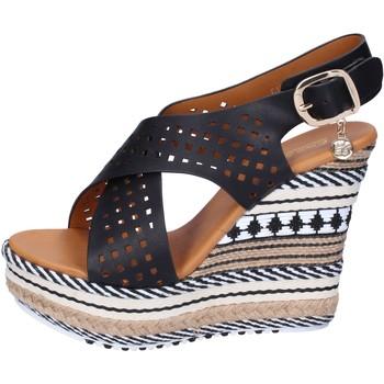 Zapatos Mujer Sandalias Enrico Coveri sandalias cuero sintético negro