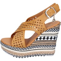 Zapatos Mujer Sandalias Enrico Coveri sandalias cuero sintético marrón