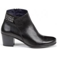 Zapatos Mujer Botines Dorking Brisda D7927 Negro negro
