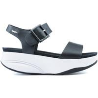 Zapatos Mujer Sandalias Mbt S  MANNI 2 W BLACK_NAPPA