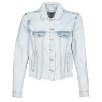 textil Mujer chaquetas denim Vila VIANNABEL Azul / Claro
