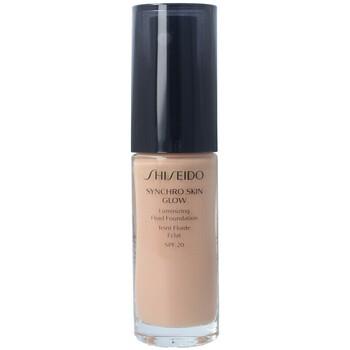 Belleza Mujer Base de maquillaje Shiseido Synchro Skin Glow Luminizing Fluid Foundation r4