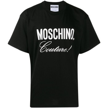 textil Hombre camisetas manga corta Love Moschino T-Shirts ZA0710 negro