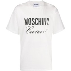 textil Hombre camisetas manga corta Love Moschino T-Shirts ZA0710 blanco